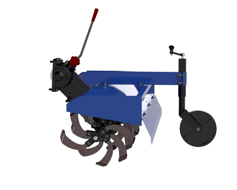 Минитрактор Скаут T-18 с почвофрезой