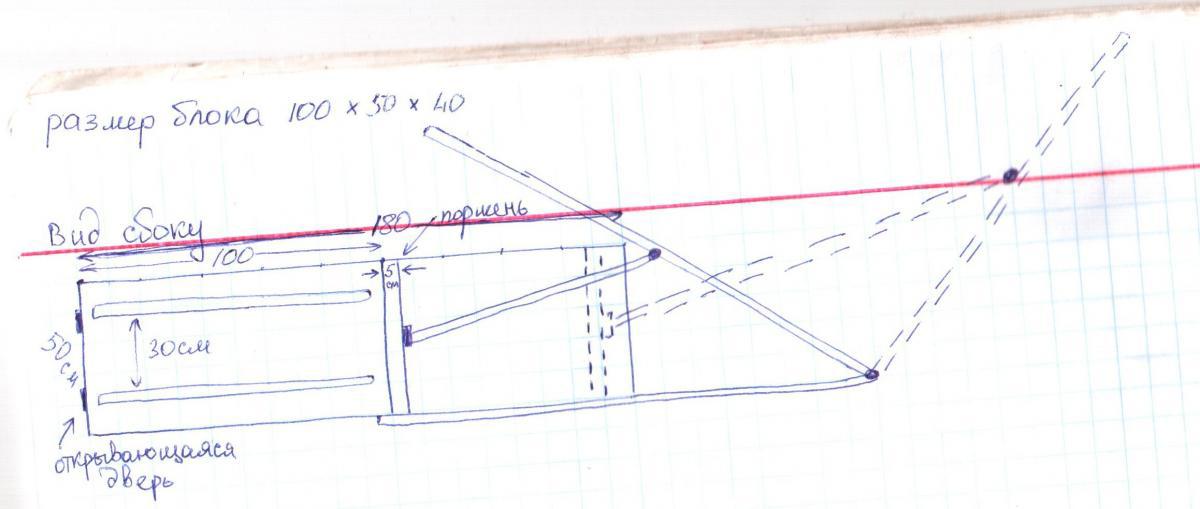 чертеж пресса для изготовления технопланктона
