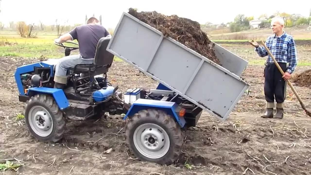 как можно сделать трактор