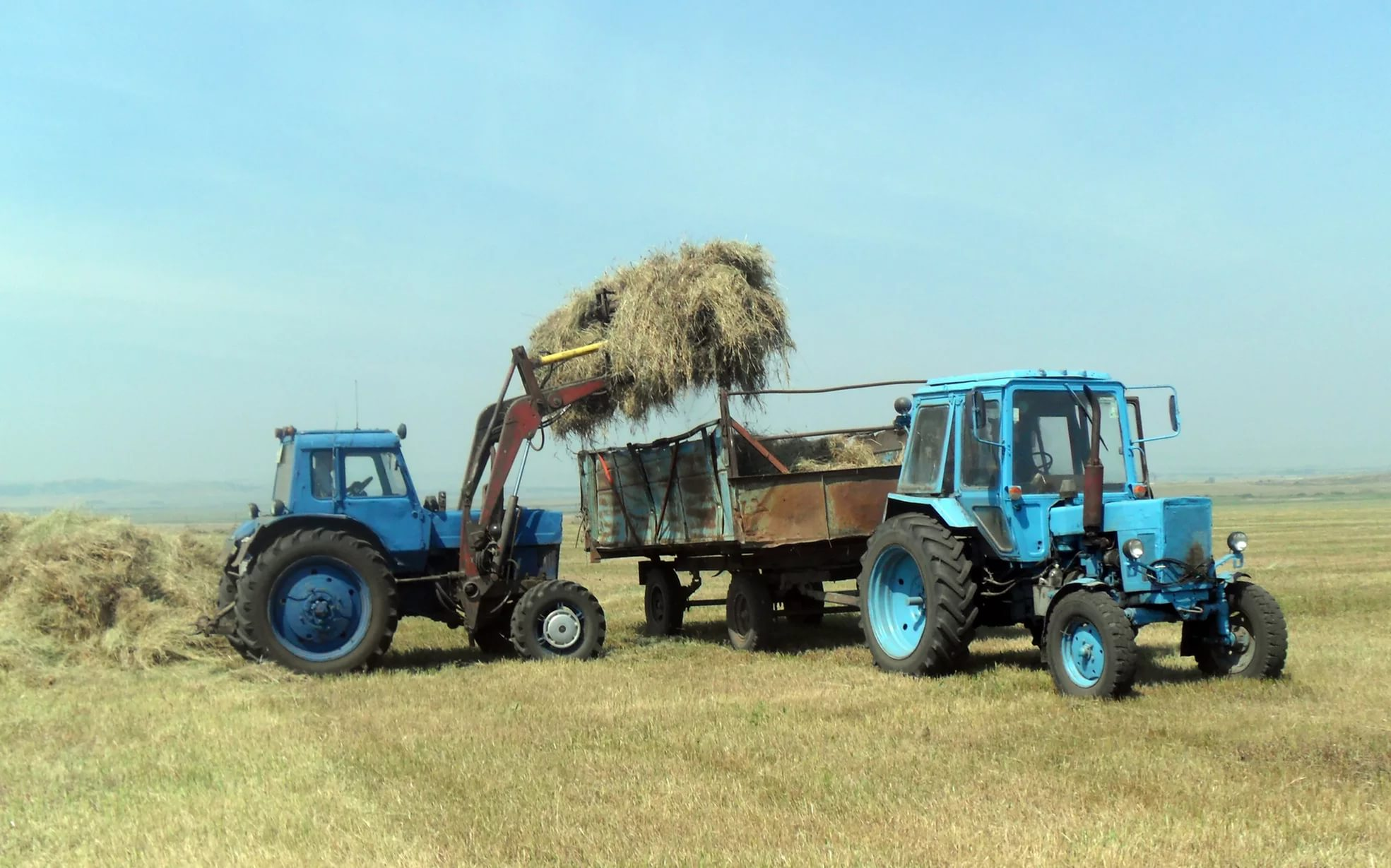 Обои на рабочий стол трактор мтз